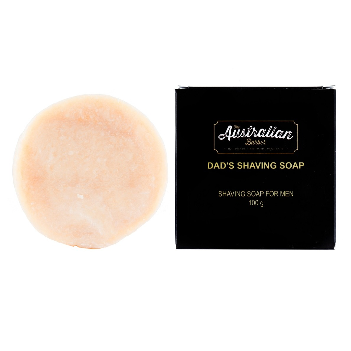 The Australian Barber Dad's Shaving Soap borotvaszappan